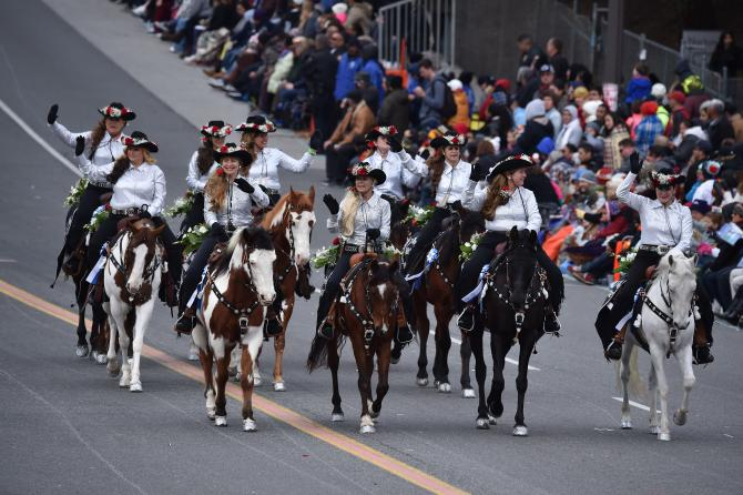 Equestrians Set To Ride In 2018 Rose Parade