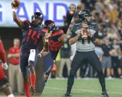 Arizona QB Khalil Tate and Purdue QB David Blough