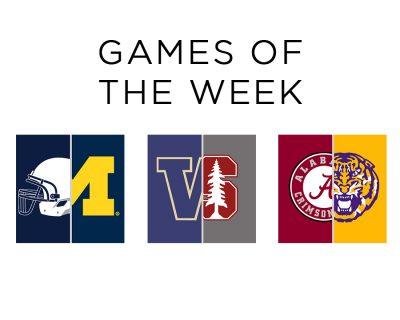 Games of the Week, Week 10