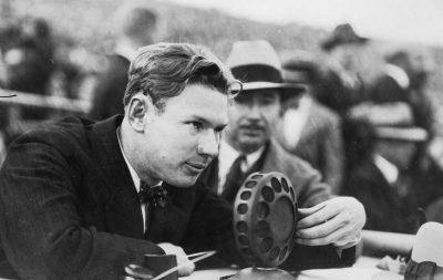 1926 Charles W. Paddock, Athlete & George C. Cowing, KPSN Radio