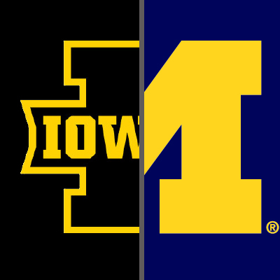 IOWA AT MICHIGAN
