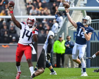 Sean Clifford and Khalil Tate Selected as Week 6 Rose Bowl Game Big Ten