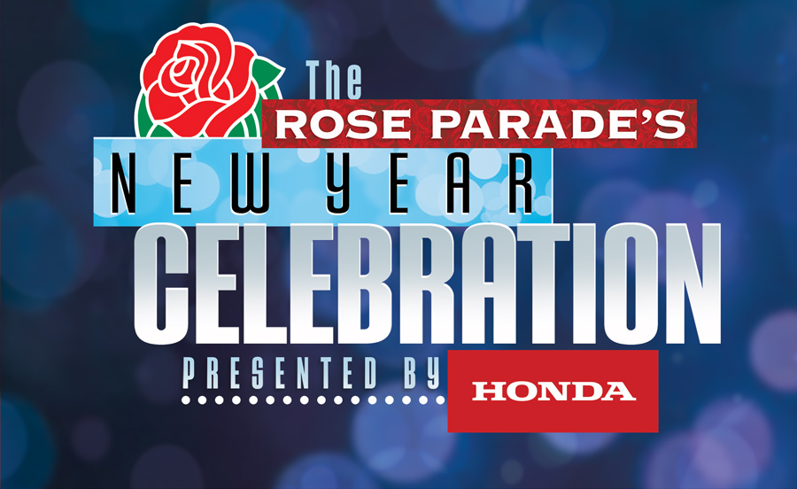 The Rose Parade's New Year Celebration presented by Honda Logo