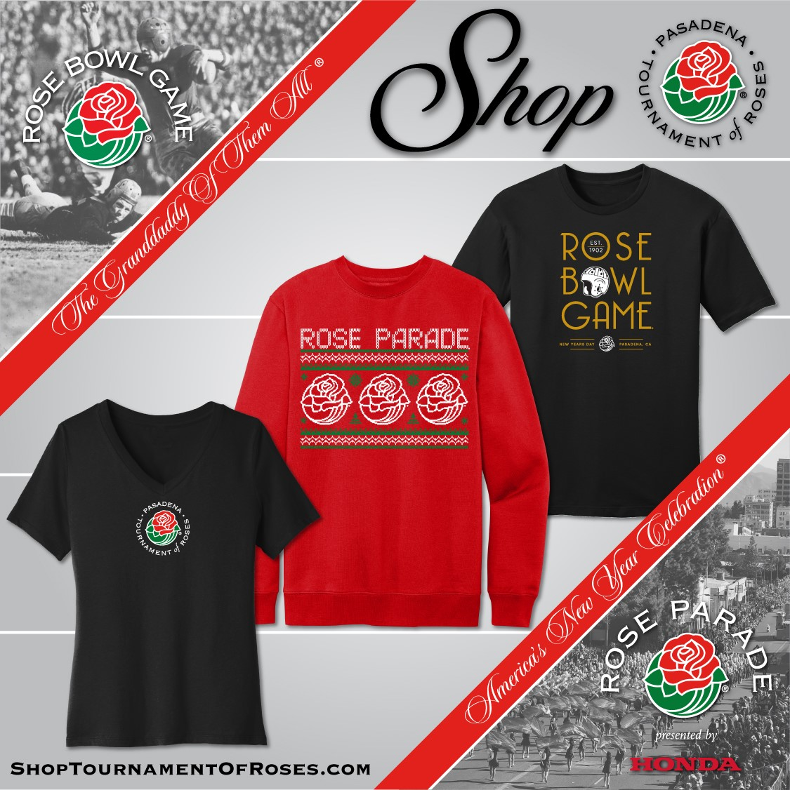 TOURNAMENT OF ROSES GEAR SHOP
